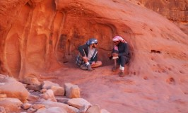 恋バナ花開くアラビアのロレンスゆかりの地 @ ヨルダン、ワディラムの砂漠Jordan Wadi Rum