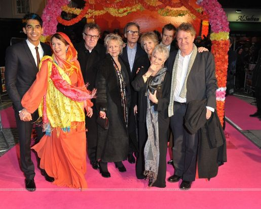 The Best Exotic Marigold Hotel Premiere at London