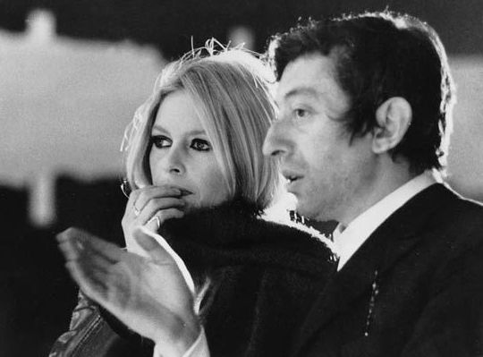 BB and Serges  gainsbourg