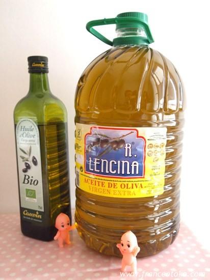 スペインの巨大オリーブオイル