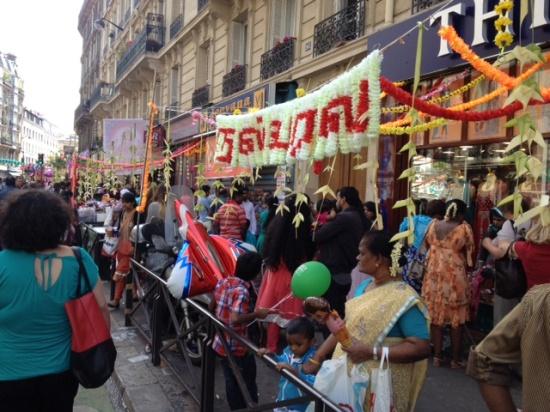 パリのインド祭