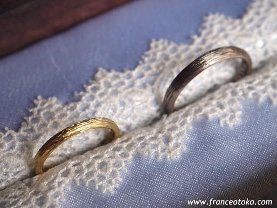 chic sick chic paris 結婚指輪オーダー