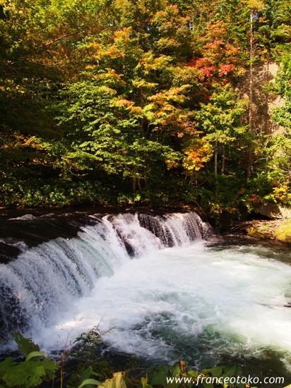 北海道 自然 風景 さくらの滝