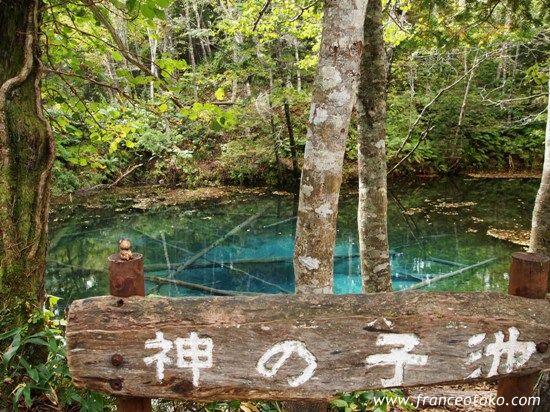 北海道 清里町 摩周湖 神の子池