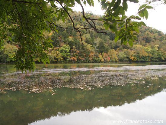 北海道 キンムトー キンム沼 第二の硫黄山