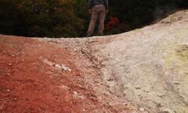 神秘と不毛と硫黄とアントニオーニ@北海道/アトサヌプリ硫黄山