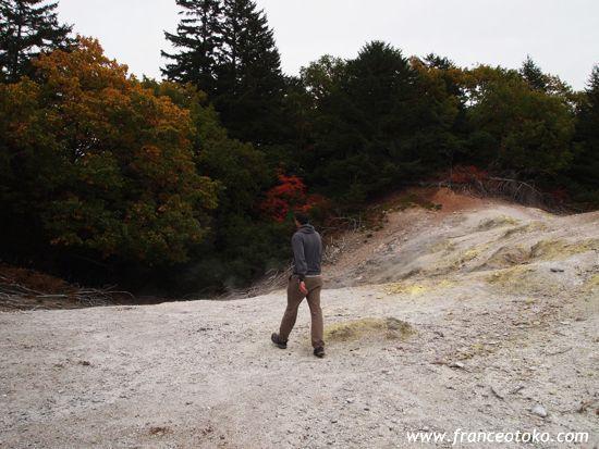 第二の硫黄山 キンムトー 北海道
