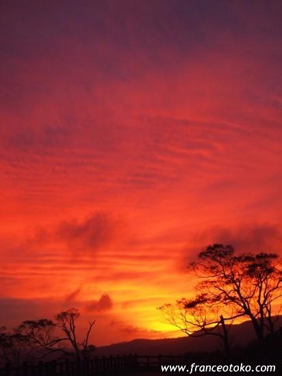 北海道 絶景 景色 夕暮れ 屈斜路湖