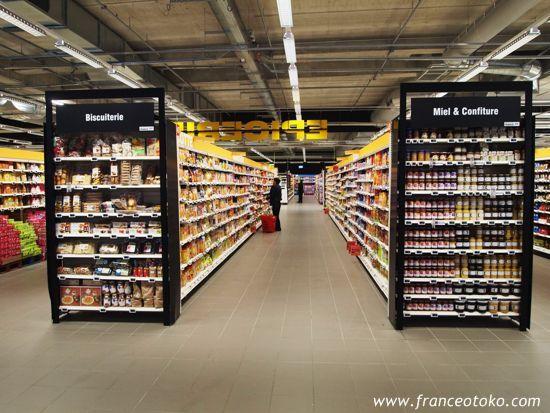 フランスのスーパー