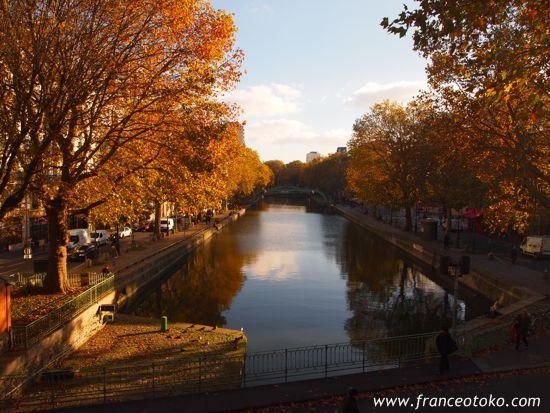 パリ・サンマルタン運河