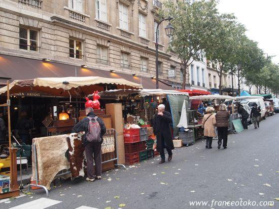パリのブロカント