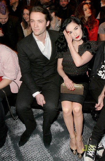 Louis-Marie de Castelbajac and Dita Von TeeseParis Fashion Week Ready to Wear Fall/Winter 2010 - Jean-Charles de Castelbajac
