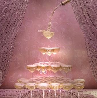ティファニー シャンパン