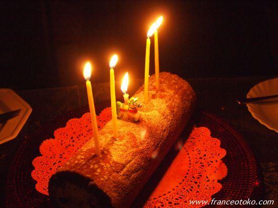 パリのロールケーキ