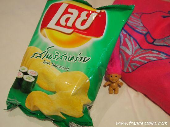 タイのポテトチップ