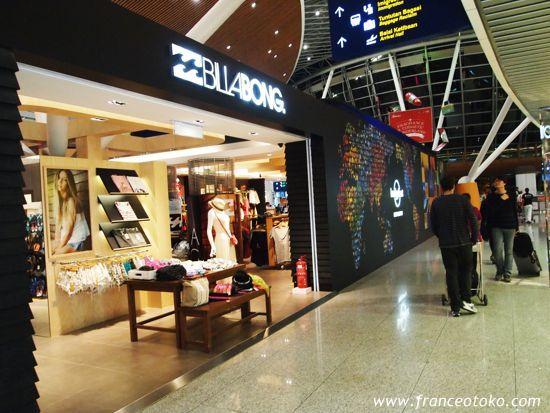 billabong クアラルンプール空港