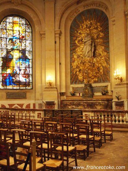 ヴェルサイユの教会