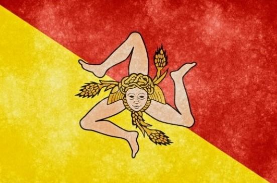 シチリアの旗のデザイン