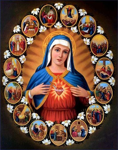 聖母マリアのハート