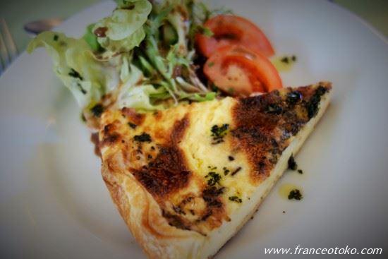 フランス料理 キッシュ