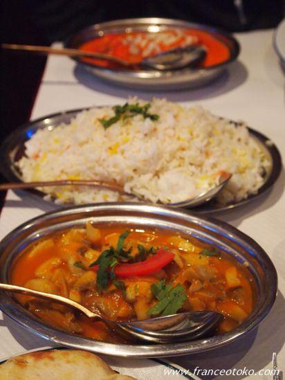 インド料理 パリ