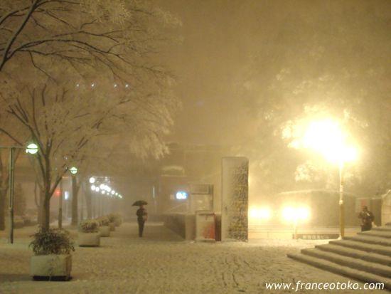 東京の大雪