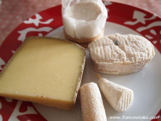 フランスのチーズ
