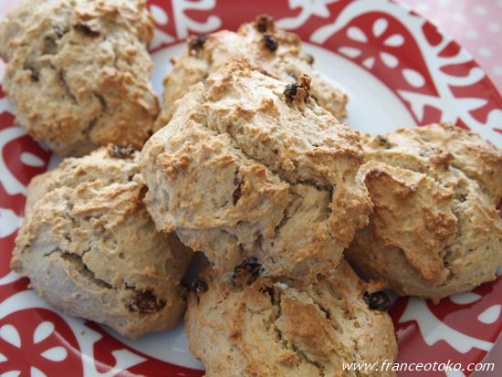Marlette scones a L anglaise