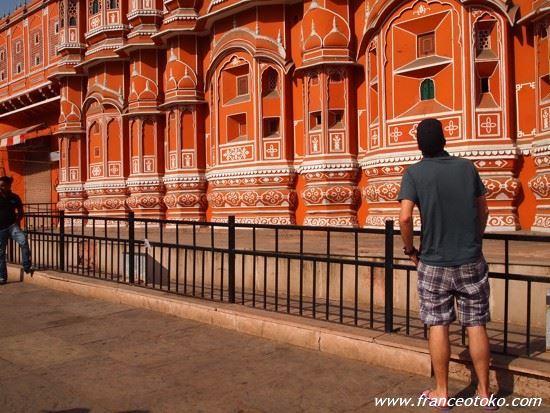 ジャイプール 風の宮殿