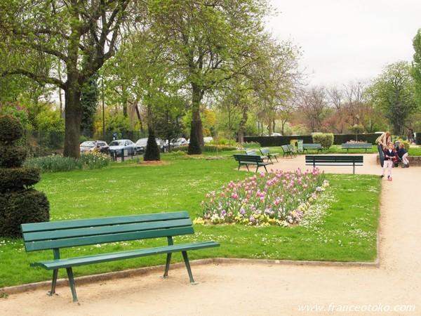 ブローニュの森 パリ