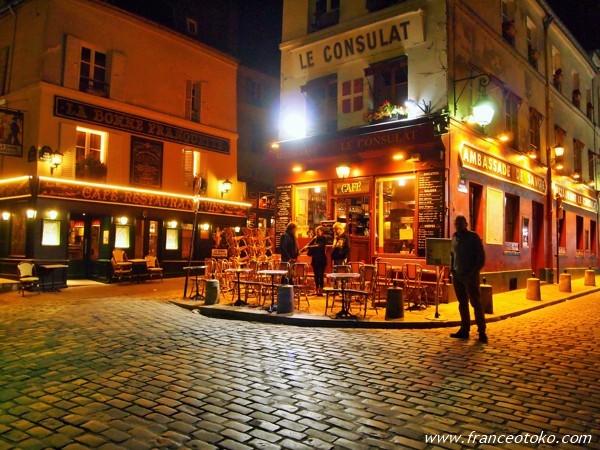モンマルトル パリ