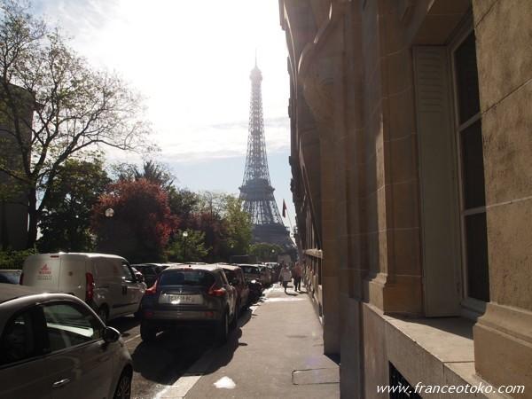 パリ トロカデロ エッフェル
