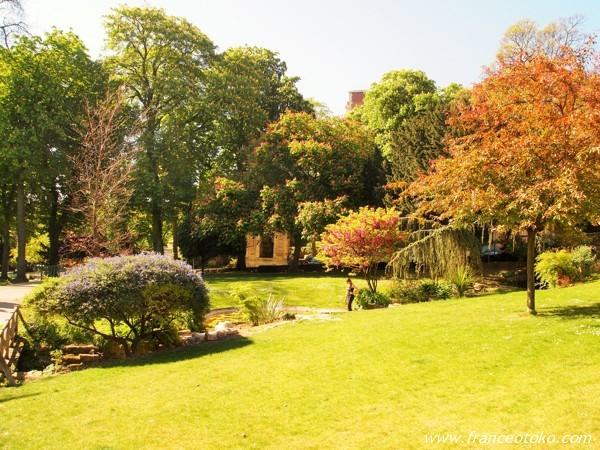 シャイヨー 庭園 パリ