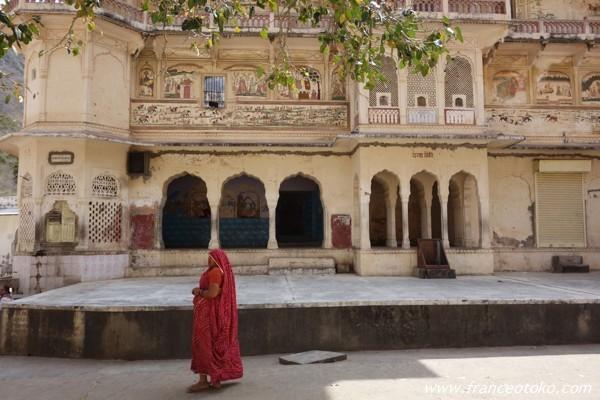 Monkey Temple (Galwar Bagh) ジャイプール・モンキーテンプル