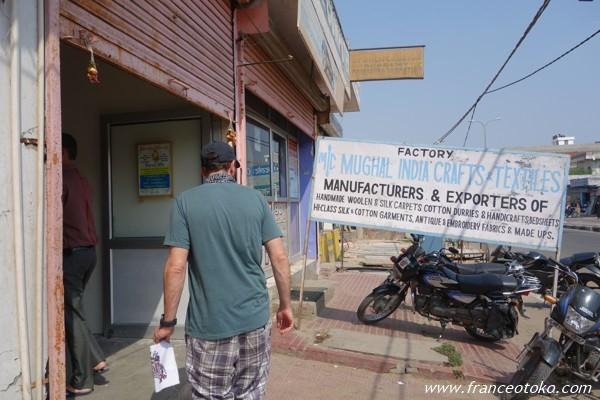 インド 工芸 ファクトリー