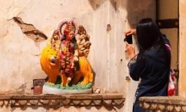 フランス男と行く!うきうきジャイプール観光モンキー・テンプル Monkey Temple (Galwar Bagh)