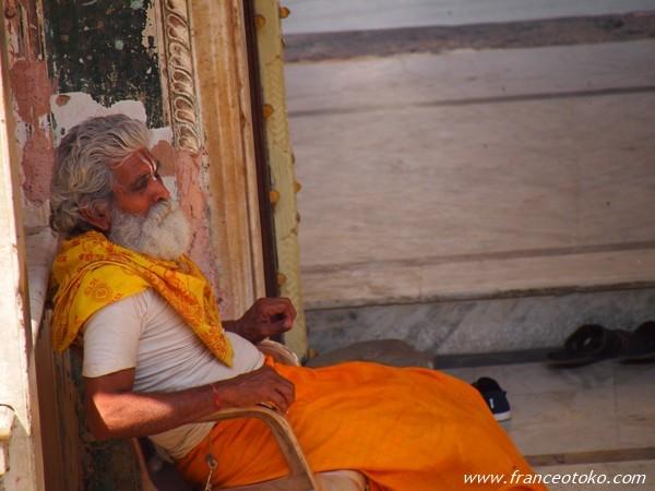 Monkey Temple (Galwar Bagh) モンキーテンプル ジャイプール