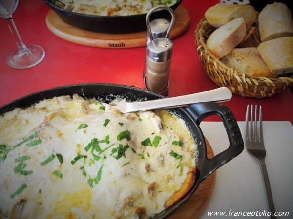 chez Gladines paris パリのバスク料理レストラン