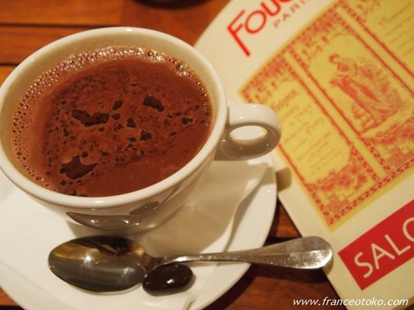 フーシェ パリ ホットチョコレート