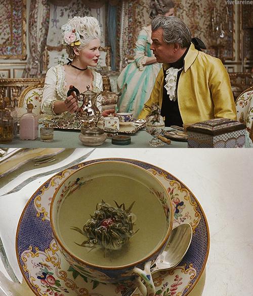 マリーアントワネット お茶