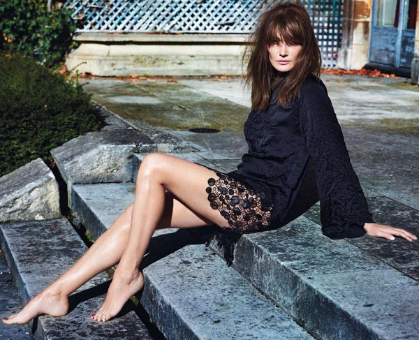 Carla-Bruni-Sarkozy-Vogue-Paris-カーラ・ブルーニ