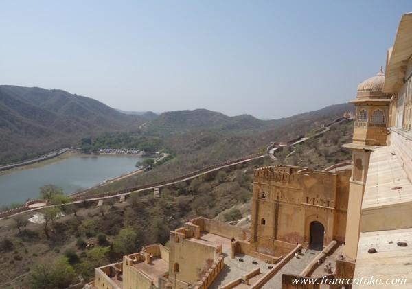 インド ジャイプール観光 アンベール城 Amber Fort