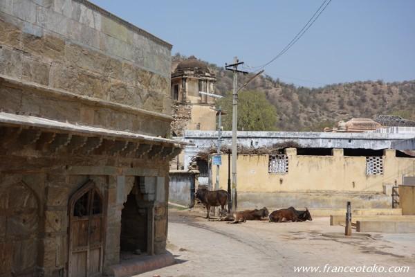 Bihariji temple amber アンベール城 インド