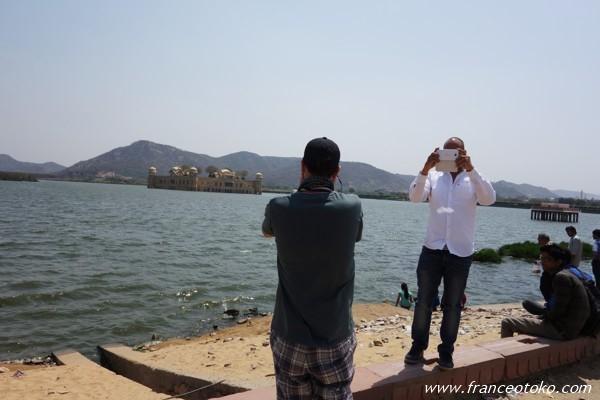 水の宮殿(ジャル・マハル) ジャイプール インド