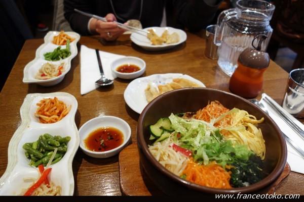パリの韓国料理