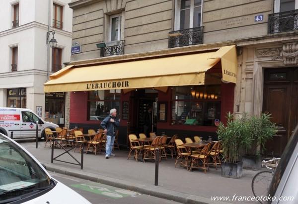 パリのビストロ L'Ebauchoir レボショワール
