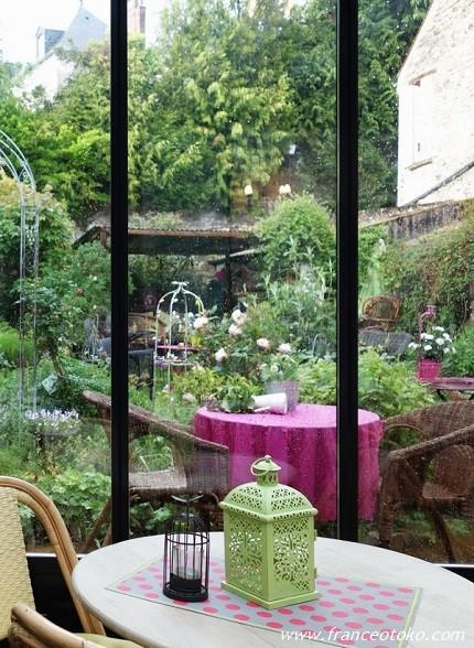 Les Rêveries dans la Théière Ermenonville パリ郊外のかわいいサロン・ド・テ