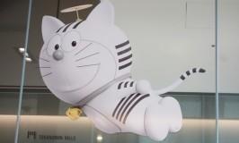 理想の男はドラえもんなだけに虎ノ門ヒルズのキャラ・トラのもんに夢中@Tokyo