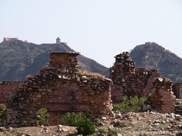 インド ジャイプール アンベール城 Amber Fort India