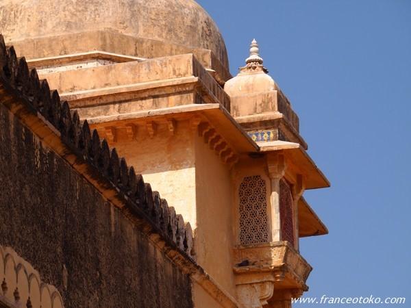 インド ジャイプール アンベール城 Amber Fort India 鏡の間